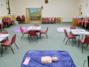 First Aid Course Set-up